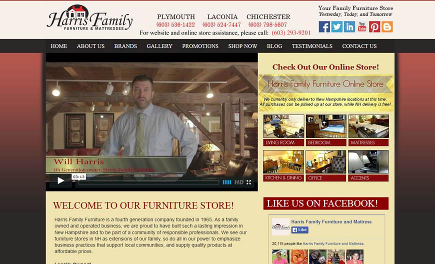 Harris Family Furniture Osetacouleur