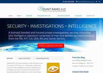 Clint Rand – A Security and Investigations company out of Newton, NH.