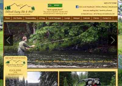 Colebrook NH Country Club – A Website and Hosting Client in the North!