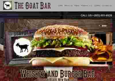 The Goat Bar – A restaurant and bar with a country theme, located in Hampton Beach!