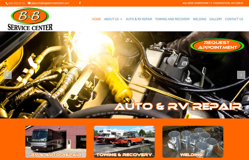 B and B Auto and RV Repair